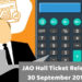 JAO Hall Ticket 2018 Released