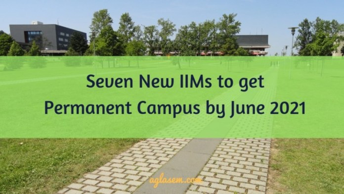Permanent Campus for IIMs