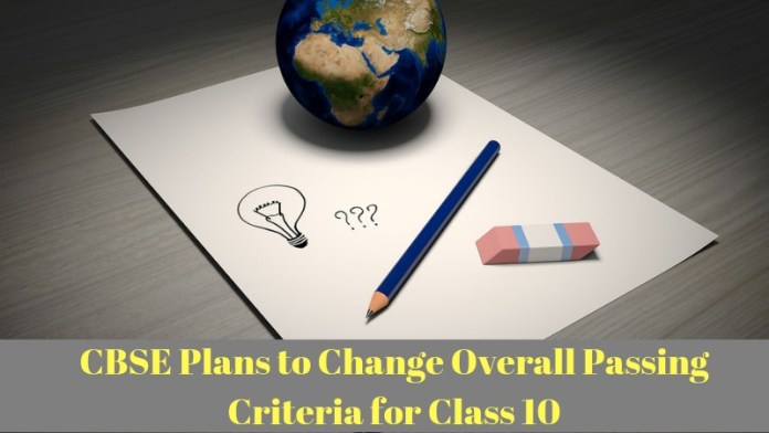 CBSE Plans to Change Overall Passing Criteria for Class 10 (1)