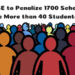 CBSE to Penalize 1700 Schools