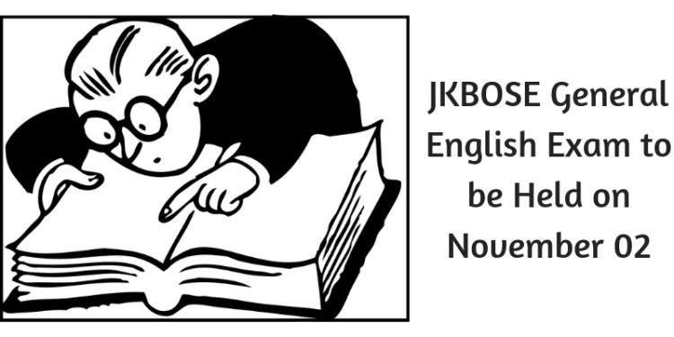 JKBOSE General English Exam to be Held on November 02