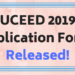 UCEED 2019 Application Form