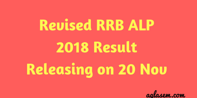 Revised RRB ALP Result 2018