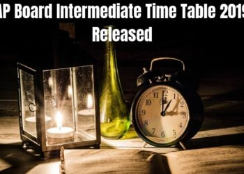 AP Board Intermediate Time Table 2019 Released-min