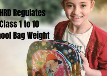 MHRD Regulates Class 1 to 10 School Bag Weight