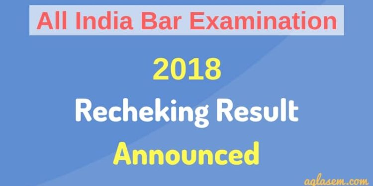 AIBE-XII Rechecking Result Announced