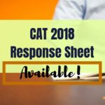 CAT 2018 Response sheet released