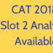 CAT 2018 Slot 2 Analysis Available-min