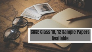 CBSE Class 10, 12 Sample Papers Available