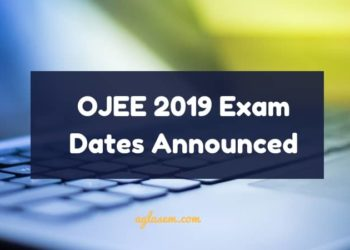 OJEE 2019 Exam Dates Announced
