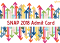 SNAP 2018 Admit Card Releasing in 3 Days