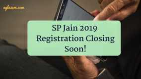 SP Jain 2019 registration