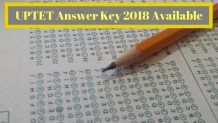 UPTET Answer Key 2018 Available