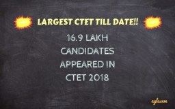 16.9 lakh applied to CTET 2018