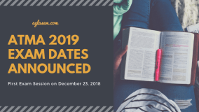 ATMA 2019 Exam Dates Announced