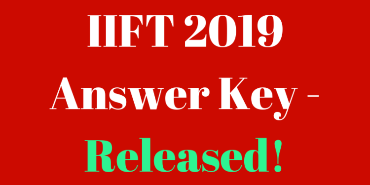 IIFT 2019 Answer Key