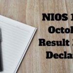NIOS 10th October Result 2018