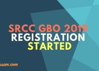 SRCC GBO 2019 Registration Started