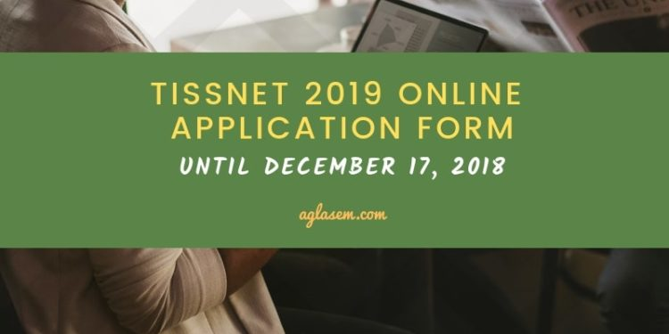 TISSNET 2019 Online Application Form