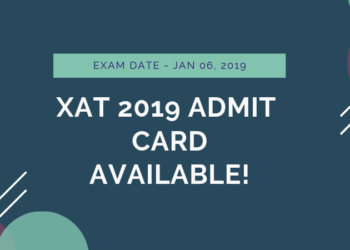 XAT 2019 Admit Card Available