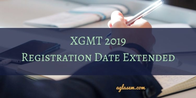 XGMT 2019 Registration Date Extended