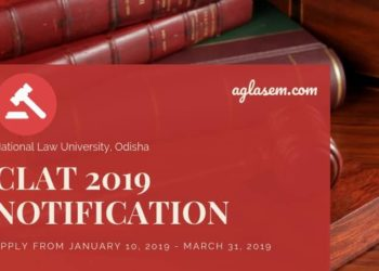 CLAT 2019 Notification