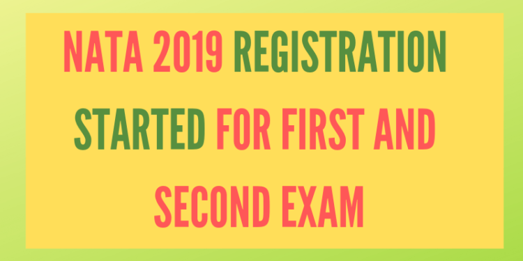 NATA 2019 Registration Started