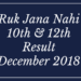 Ruk Jana Nahi Result Dec 2018