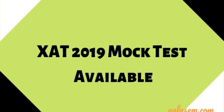 XAT 2019 Mock Test Available