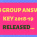 RRB Group D Answer Key Released