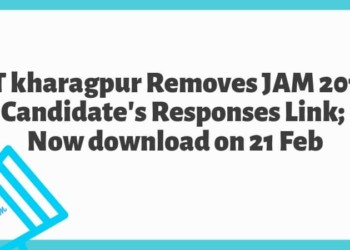 IIT Kharagpur Releases JAM 2019 Candidates Responses Link Now Available on 21 Feb