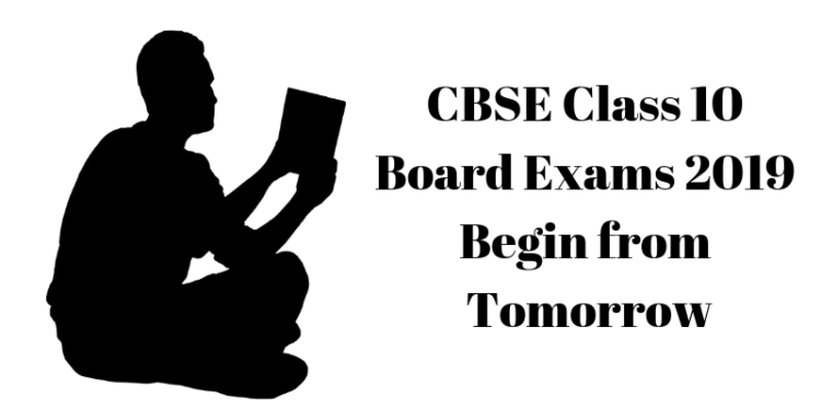 CBSE Class 10 Board Exams 2019 Begin from Tomorrow
