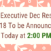 CS Executive Dec Result 2018 To be Announced Today at 2 PM
