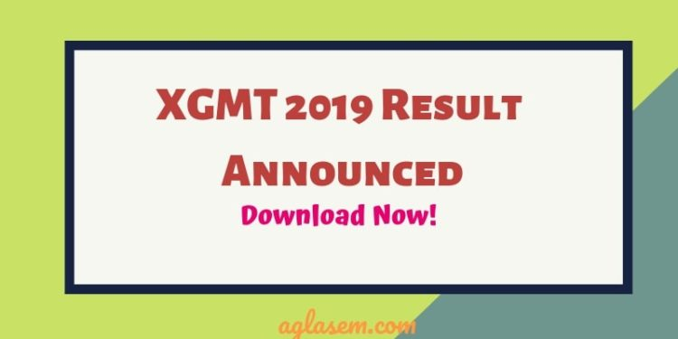 XGMT 2019 Result Announced