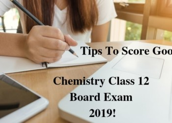 Chemistry class 12 Board Exam 2019 On March 12