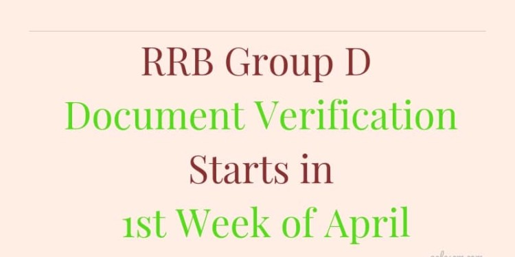RRB-Group-D-Document-Verification-Aglasem