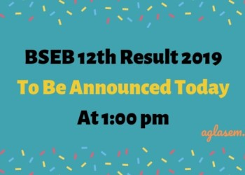 BSEB 12th Result 2019 To Be Announced Today At 1:00 pm