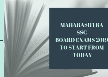 Maharashtra SSC Exams 2019 from Today