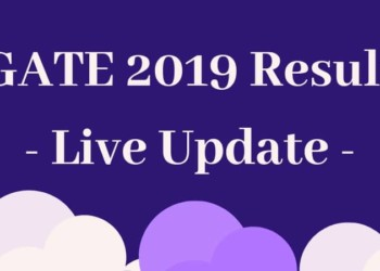 GATE 2019 Result Live Update