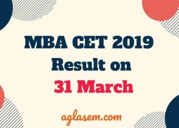 MAH MBA CET 2019 Result Out on 31 March