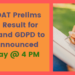 NID DAT Prelims 2019 Result for BDes and GDPD to be Announced Today at 4 PM