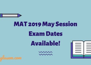 MAT 2019 May Exam Dates Available
