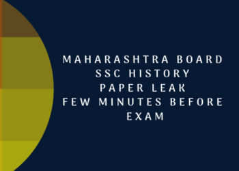 Maharahtra SSC Paper Leak Before Exam
