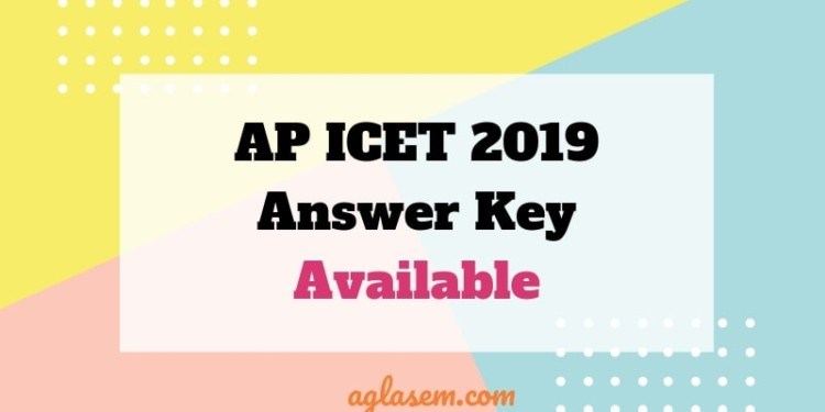 AP ICET 2019 Answer Key Available