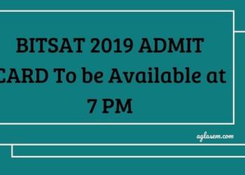 BITSAT 2019 ADMIT CARD DELAYED