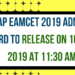 AP EAMCET 2019 ADMIT CARD TO RELEASE ON 16 APR 2019 AT 11:30 AM