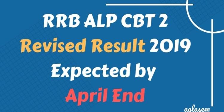RRB ALP CBT 2 Revised Result 2019 Expected by April End Aglasem