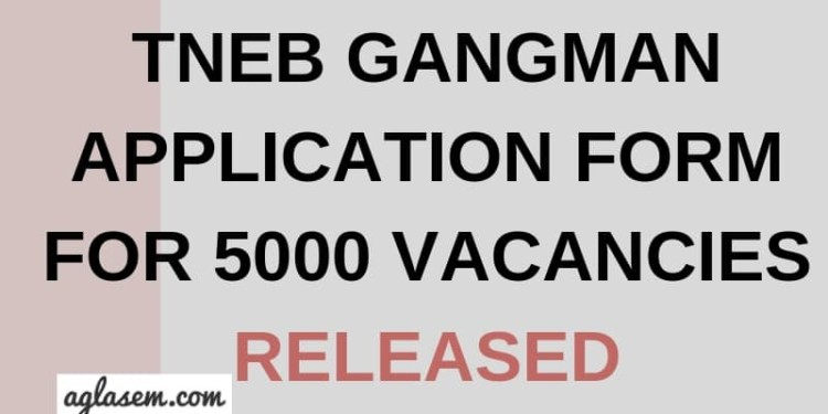 TNEB Gangman 2019 Aglasem