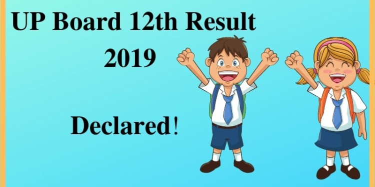 UP Board 12th Result 2019