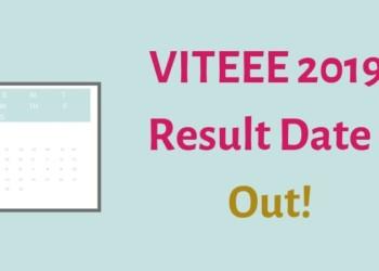 VITEEE 2019 Result